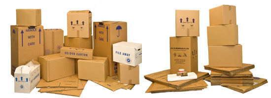 Moving Boxes Glasgow | Packing Materials | Packaging
